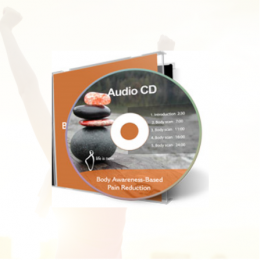Downloaded version of the Body Awareness Audio CD from Life is Now, Pain Care for Life