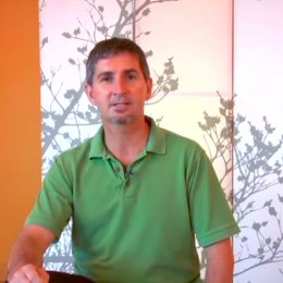 Frame from Overcome Pain with Gentle Yoga Level One Video by Pain Care Physical Therapist Neil Pearson